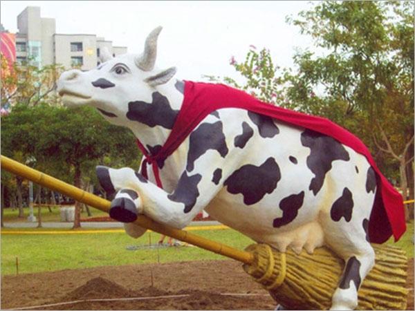 grc动物造型雕塑工程